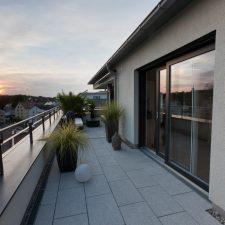 Dachterrasse Penthauswohnung - M. Dumberger Bauunternehmung GmbH & Co. KG
