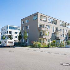 Mehrfamilienhäuser im Reesepark Augsburg
