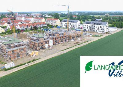 Das Baugebiet Langweid Village im Mai 2018 - M. Dumberger Bauunternehmung GmbH & Co. KG