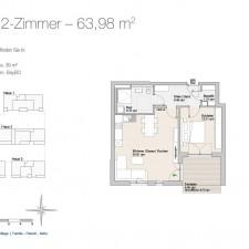 Wohnung 28 - Mehrfamilienhäuser Langweid 2. BA - M. Dumberger Bauunternehmung GmbH & Co. KG