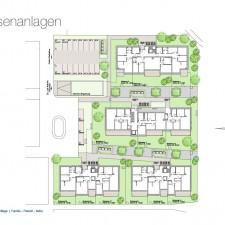 Aussenanlagen - Mehrfamilienhäuser Langweid 2. BA - M. Dumberger Bauunternehmung GmbH & Co. KG