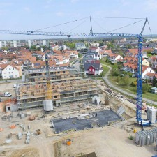 Mehrfamilienhäuser 2. BA, Langweid Village (Bautenstand April 2020) - M. Dumberger Bauunternehmung GmbH & Co. KG