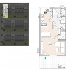 Haus 1 - Reihen-/Doppelhäuser Langweid 3. BA - M. Dumberger Bauunternehmung GmbH & Co. KG