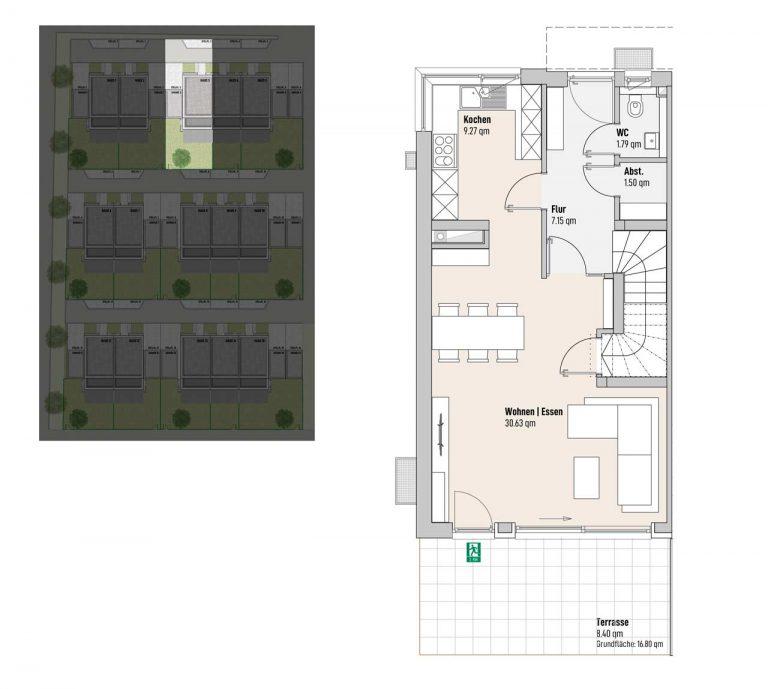 Haus 3 - Reihen-/Doppelhäuser Langweid 3. BA - M. Dumberger Bauunternehmung GmbH & Co. KG