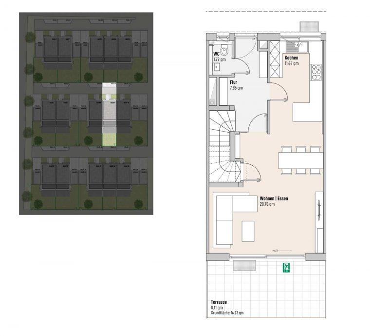 Haus 9 - Reihen-/Doppelhäuser Langweid 3. BA - M. Dumberger Bauunternehmung GmbH & Co. KG