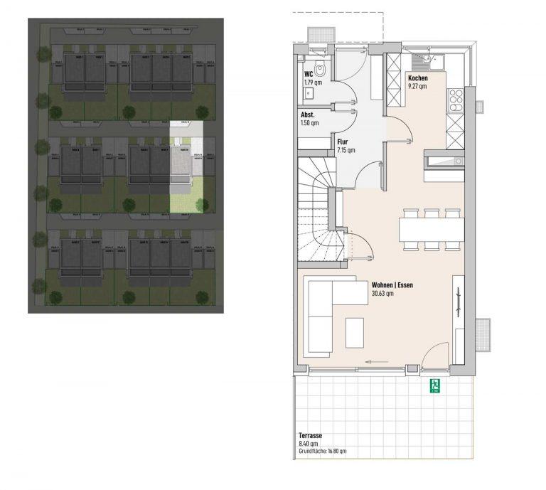 Haus 10 - Reihen-/Doppelhäuser Langweid 3. BA - M. Dumberger Bauunternehmung GmbH & Co. KG