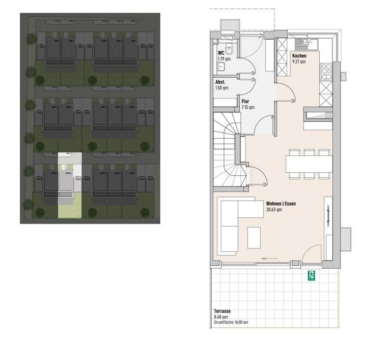 Haus 12 - Reihen-/Doppelhäuser Langweid 3. BA - M. Dumberger Bauunternehmung GmbH & Co. KG