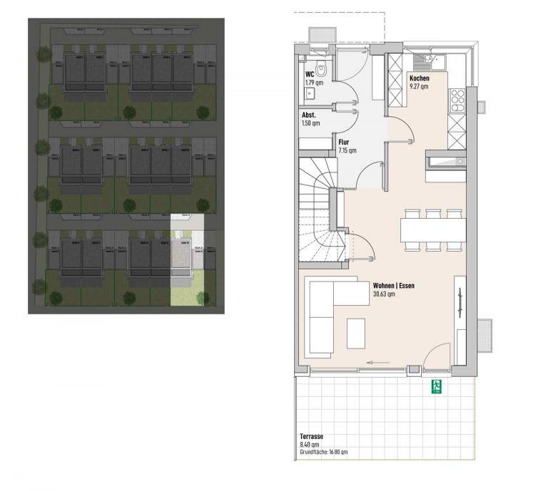 Haus 15 - Reihen-/Doppelhäuser Langweid 3. BA - M. Dumberger Bauunternehmung GmbH & Co. KG