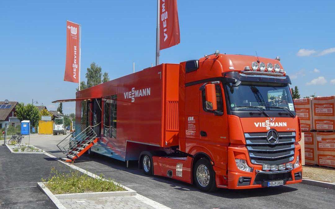 """Der """"Brennstoffzellen""""-Truck macht halt in Mering"""