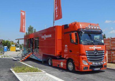 Der Viessmann Energietruck in Mering - M. Dumberger Bauunternehmung GmbH & Co. KG
