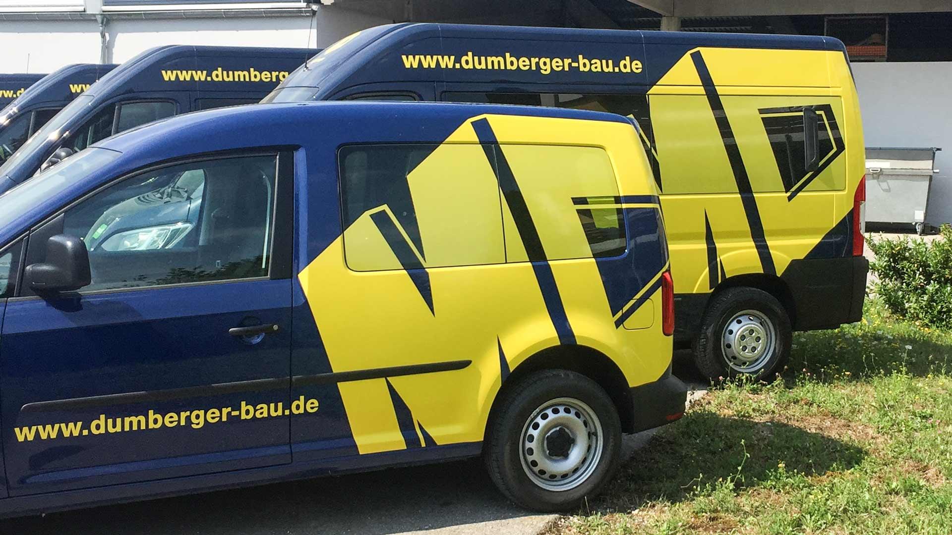 Die M. Dumberger Bauunternehmung fährt klimaschonend und investiert 800.000 Euro in Erdgas-Fuhrpark