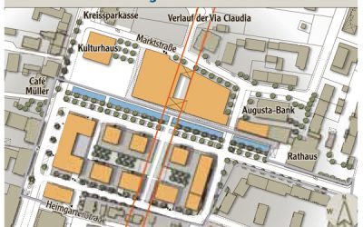 Bebaungsplan Zentrum Königsbrunn