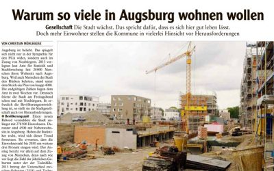 Wohnen in Augsburg – attraktiv wie nie zuvor!