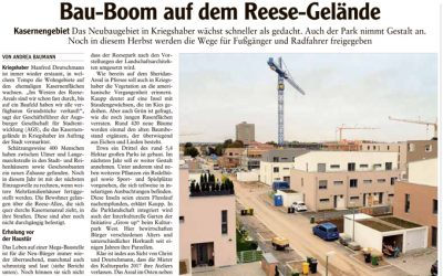 Bau-Boom auf dem Reese-Gelände