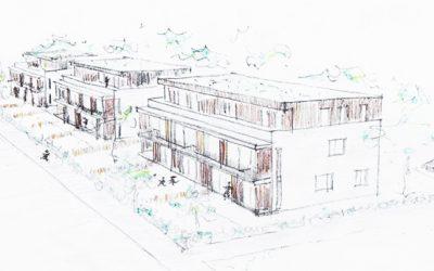 Im Baugebiet Oberland entstehen 24 Wohnungen
