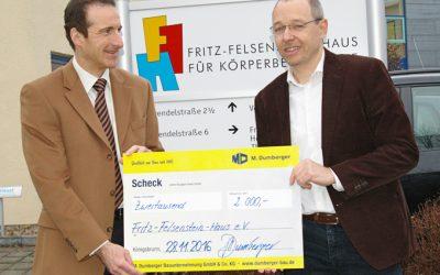 Spende an das Fritz-Felsenstein-Haus