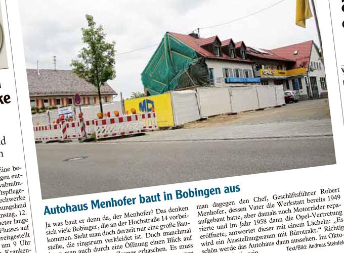Erweiterungsbau für Autohaus