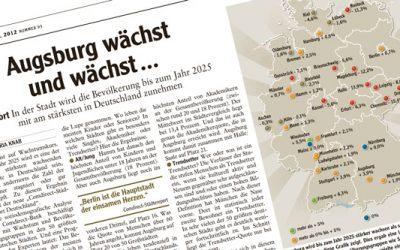 Augsburg boomt mehr als München