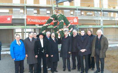 Richtfest der Kreissparkasse in Diedorf