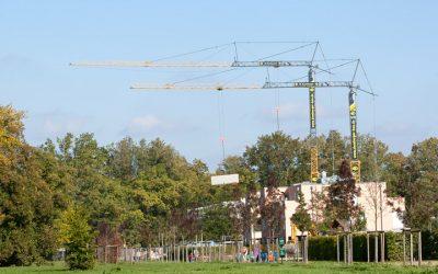 Baufirma steht in den Startlöchern